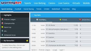Sportingbet.ro – sport și casino live